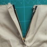 First fly zipper done